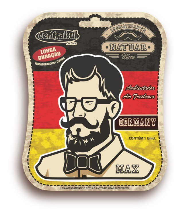 Aromatizante Miniatura Men Germany