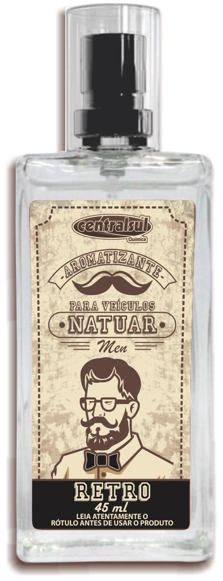 Aromatizante Natuar Men 45ml Retro