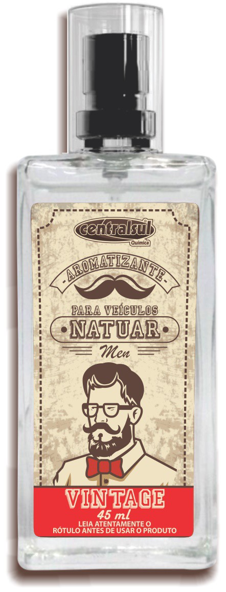 Aromatizante Natuar Men 45ml Vintage