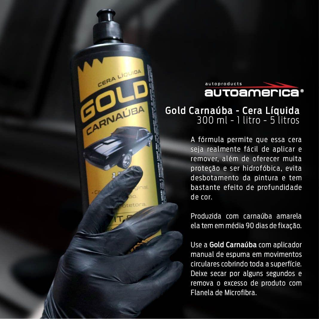 Autoamerica Cera Liquida Gold Carnaúba