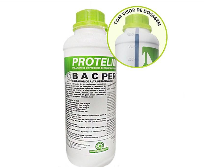 Bac Peroxy Protelim 1L - Limpador de Alta Performance