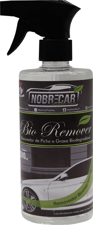 Bio Remover 500mL - Removedor de Piche, Graxa e Incrustado de Faixa Branca de Pneu -  Nobre Car