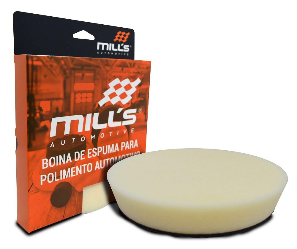 Boina de Espuma Branca (Refino) Mills 127 mm (5