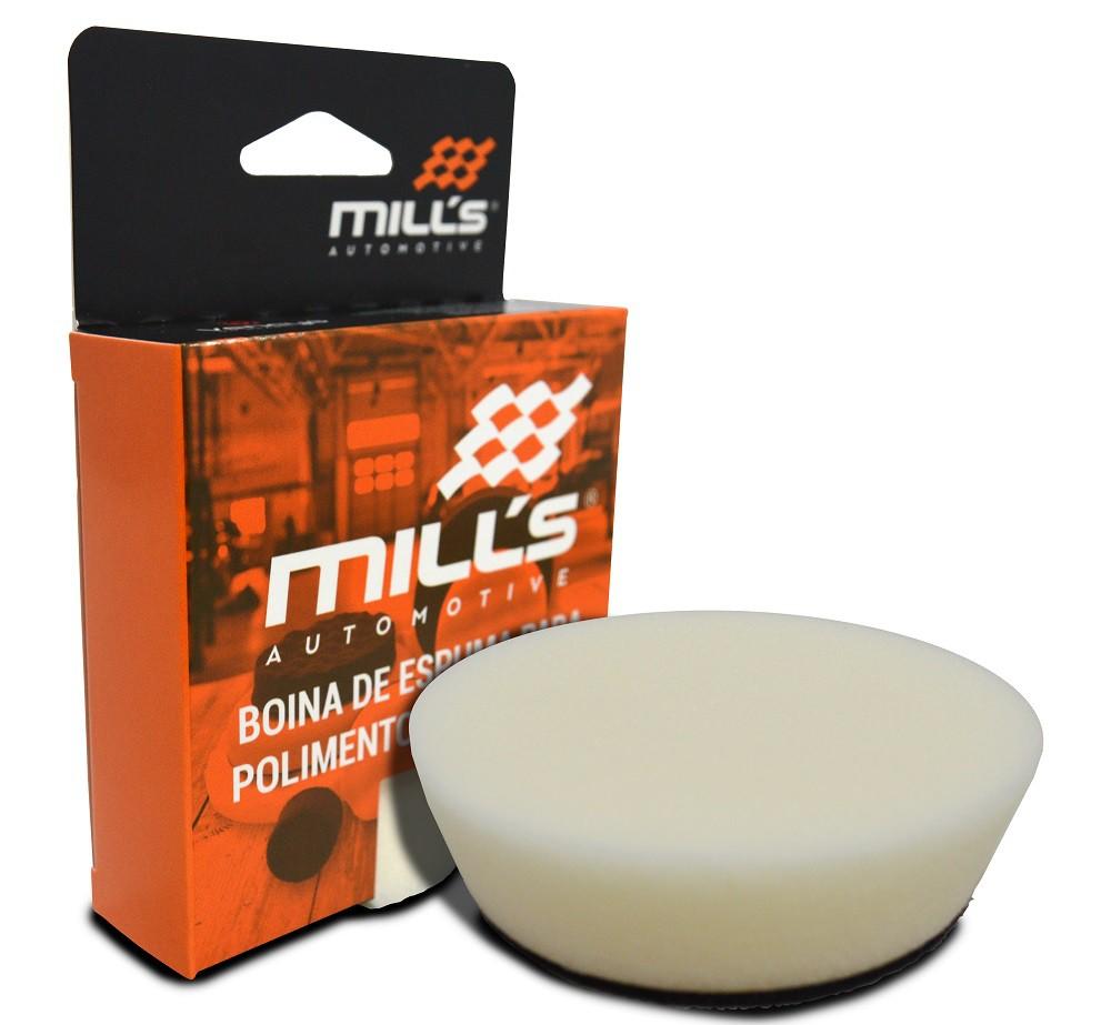 Boina de Espuma Branca (Refino) Mills 85 mm (3