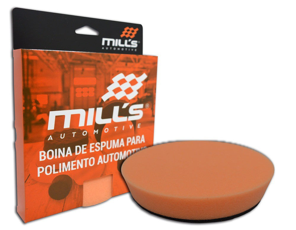 Boina de Espuma Laranja Mills (Corte Médio) 127 mm (5