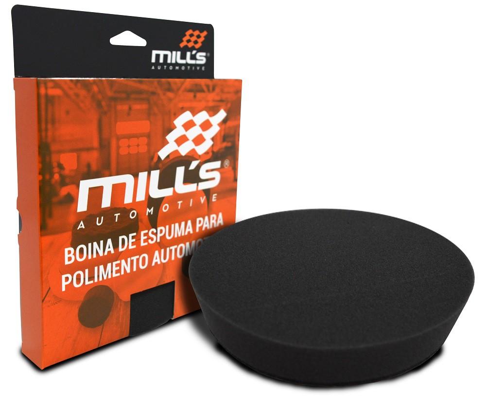 Boina de Espuma Preta Mills (Lustro) 127 mm (5