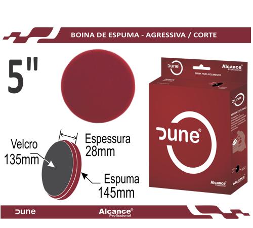 Boina Espuma Agressiva Vermelha Dune 5