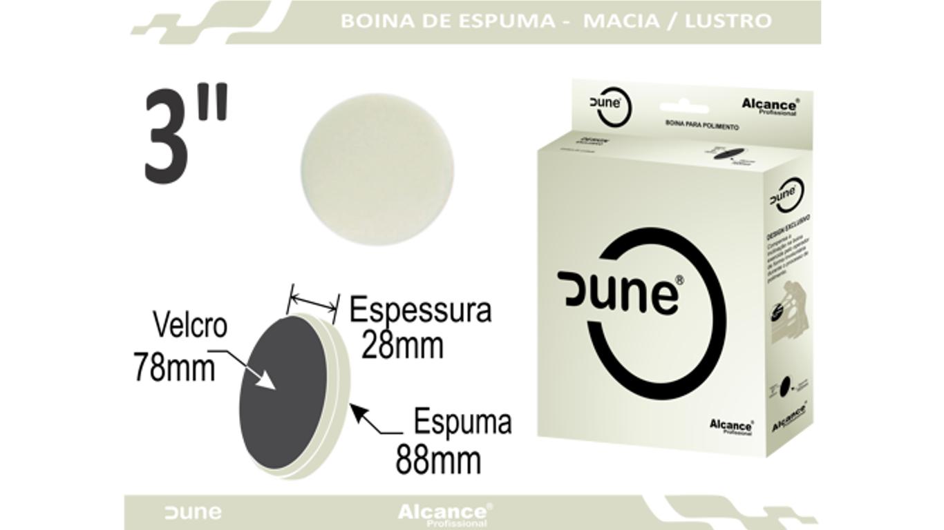 Boina Espuma Dune Macia Refino/Lustro 3