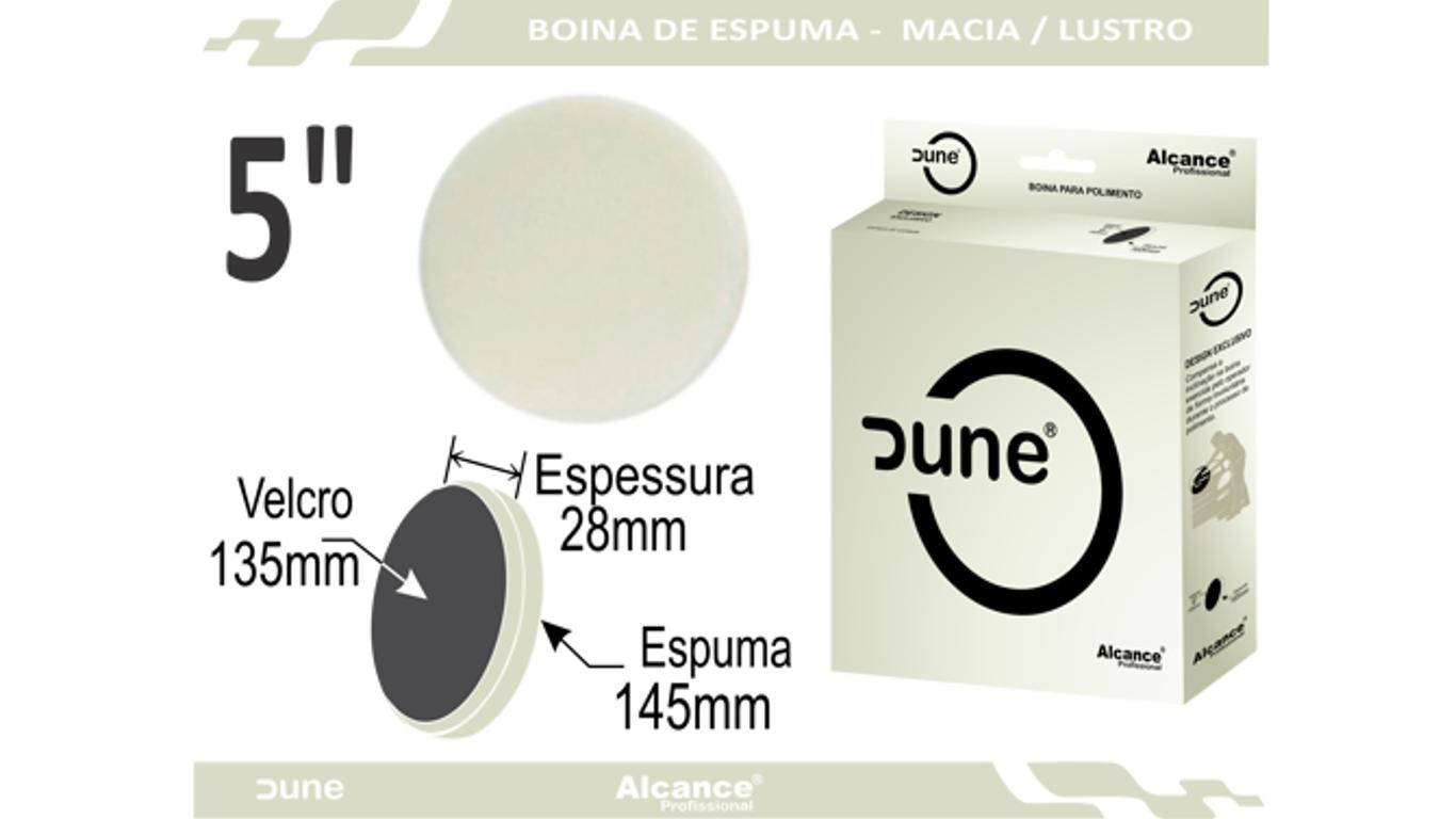 Boina Espuma Dune Macia Refino/Lustro 5