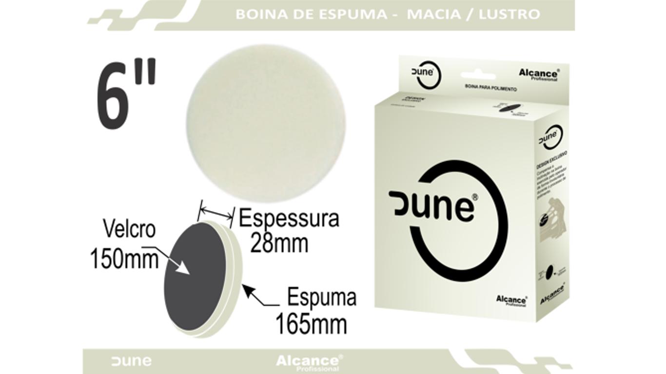 Boina Espuma Dune Macia Refino/Lustro 6