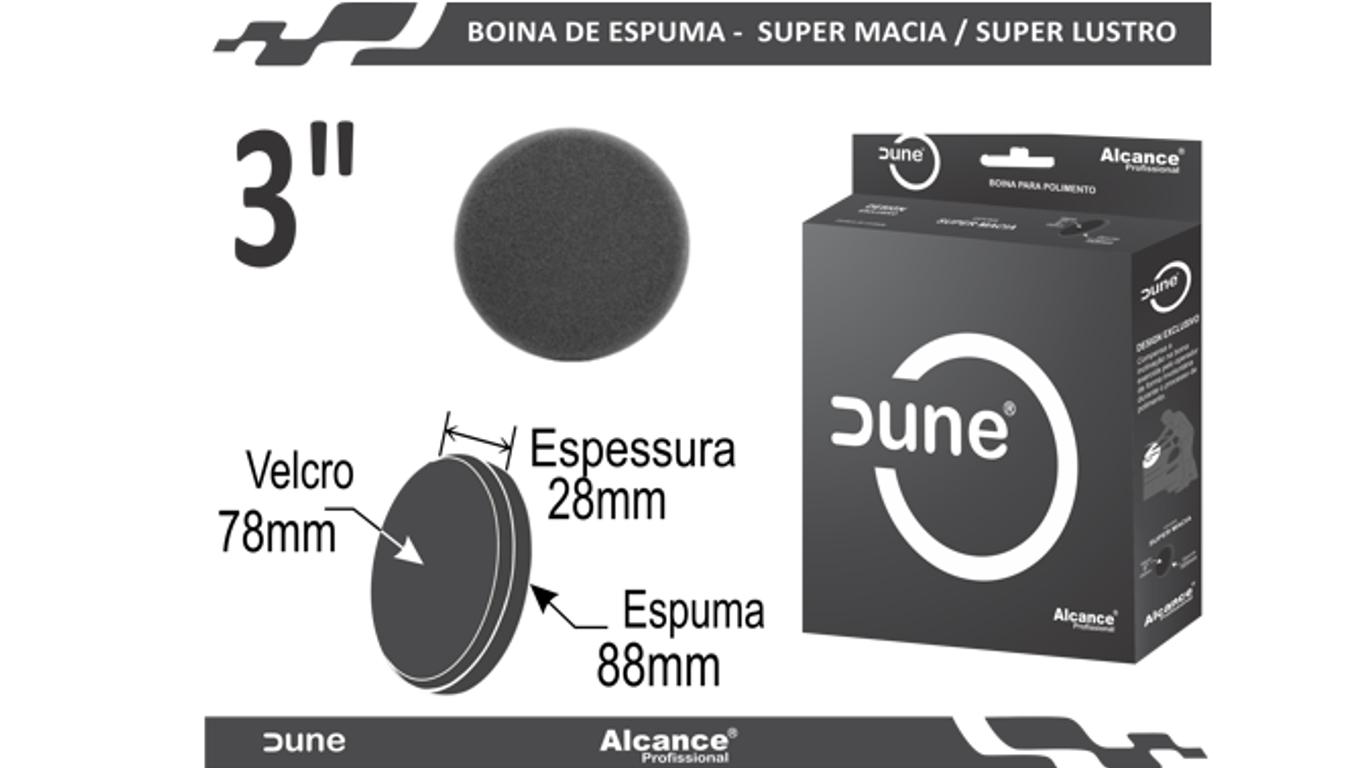 Boina Espuma Dune Super Macia Lustro 3