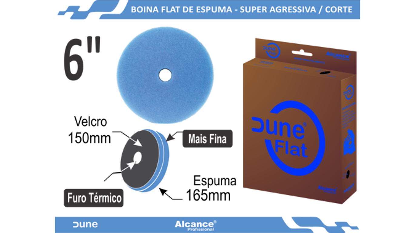 Boina Espuma Flat Dune Super Agressiva 6
