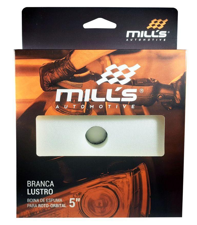 Boina Espuma para Orbital Branca Mills (Lustro) 127 mm (5