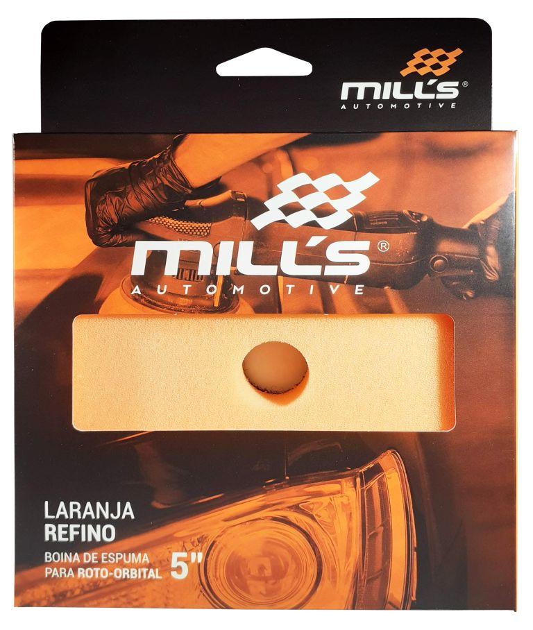 Boina Espuma para Orbital Laranja Mills (Refino) 127 mm (5