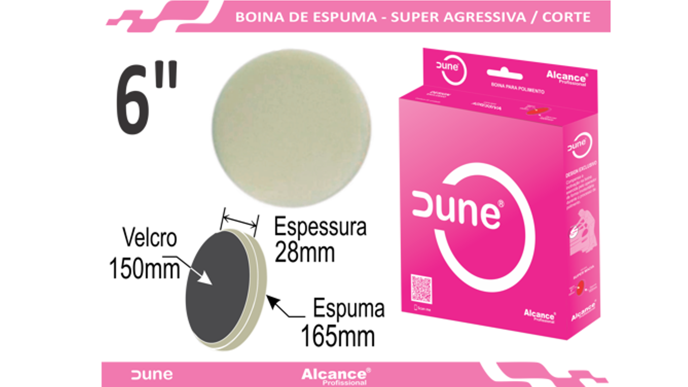 Boina Espuma Super Agressiva Dune 6