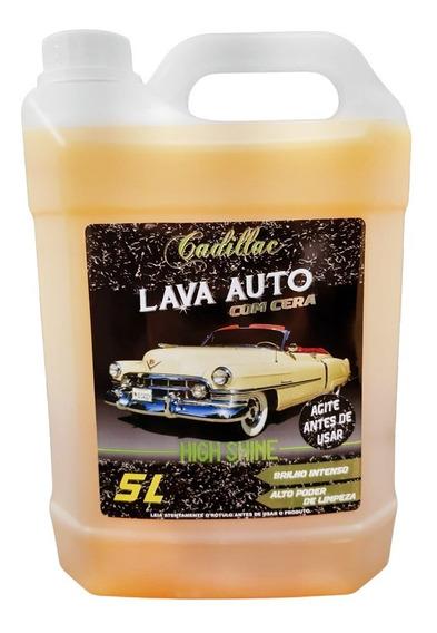 Cadillac Lava Auto com Cera High Shine 1:200 ( 5 Litros )