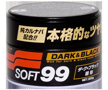 Cera de Carnaúba Dark & Black SOFT99 - 300GR