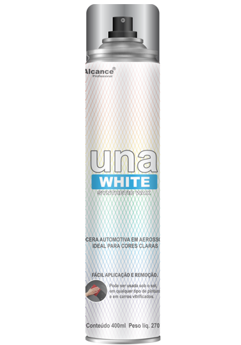 Cera Spray Una WHITE Aerosol 400ML Alcance