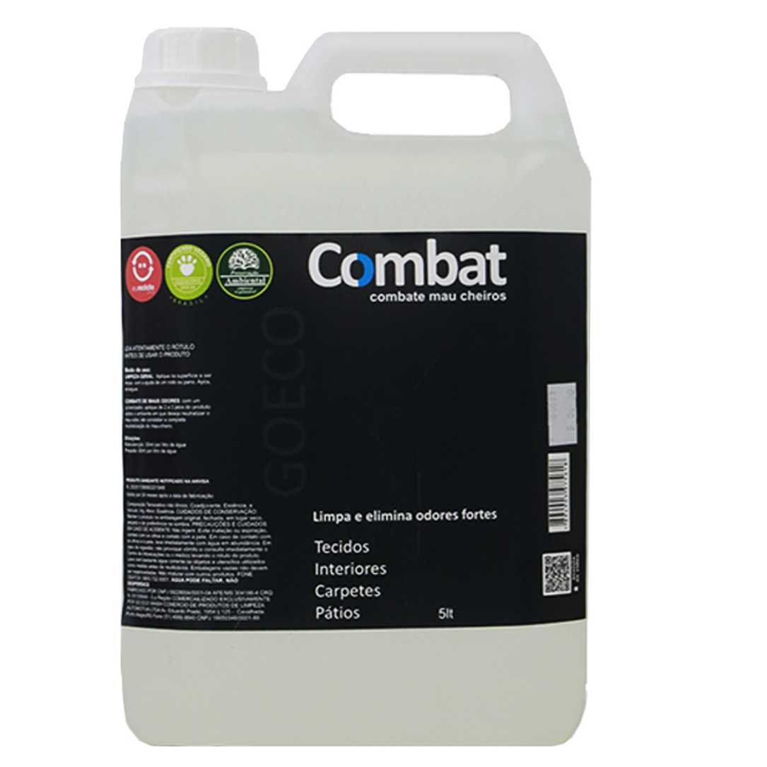COMBAT - Eliminador de Odores Fortes 5lt  Go Eco Wash