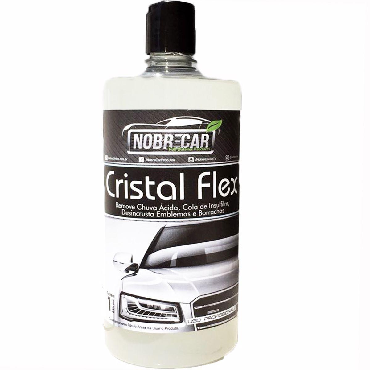 Cristal Flex Removedor de Chuva Ácida 1L - Nobre Car