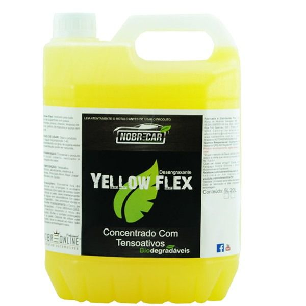 Desengraxante Concentrado Yellow Flex 5L - Nobre Car