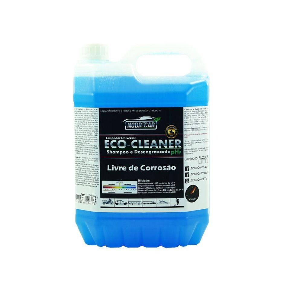 Eco Cleaner - Shampoo e Desengraxante pH9 5L - Linha Premium (Nobre Car)