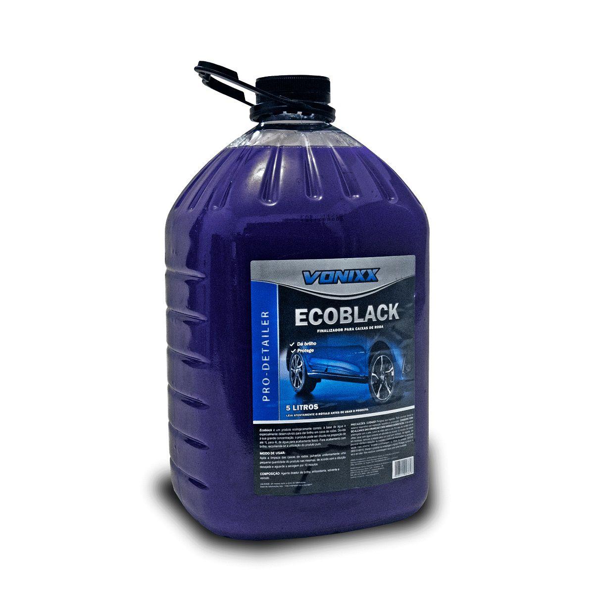 Ecoblack - Finalizador para caixas de roda (5 Litros)