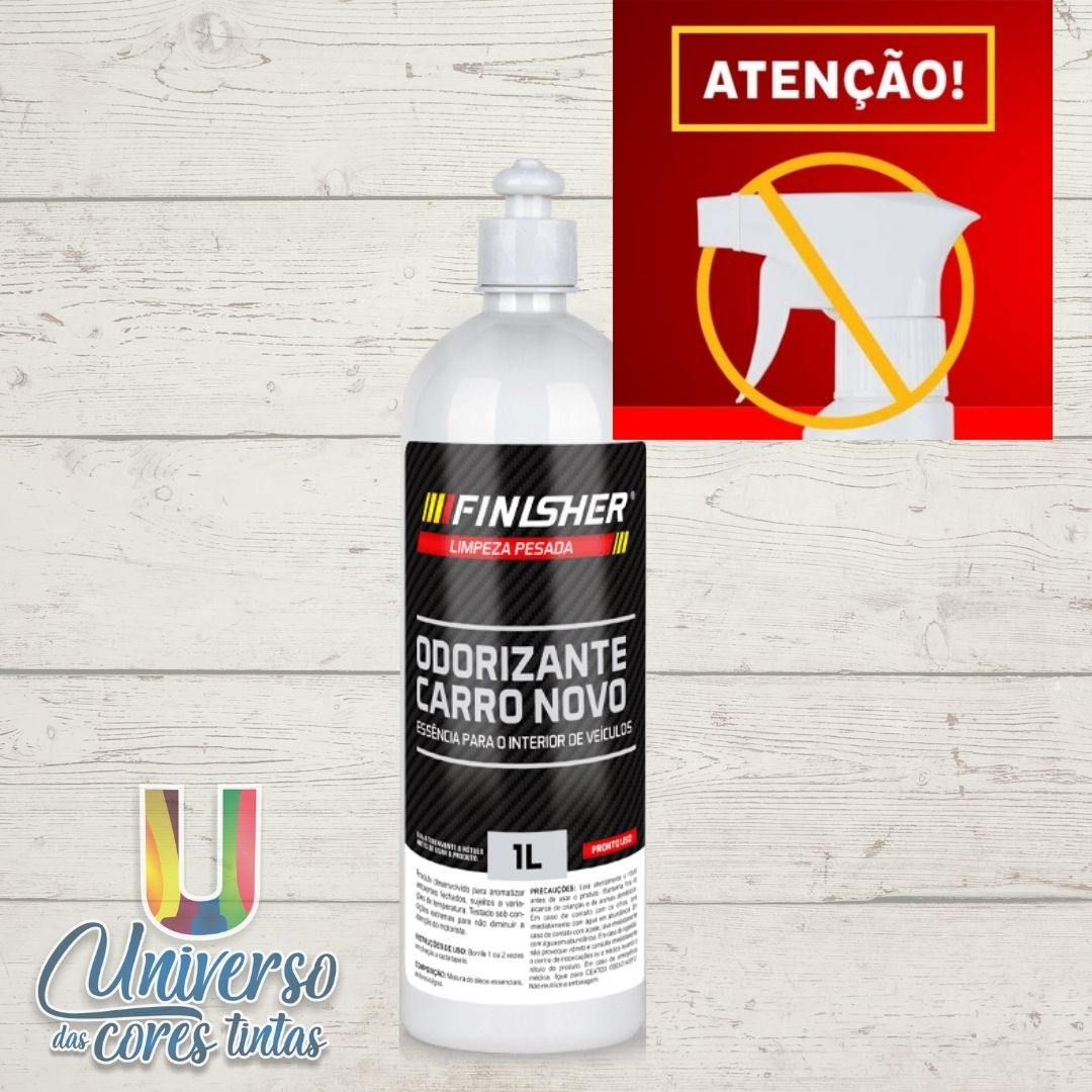 Finisher Odorizante Carro Novo 1 Litro (SEM GATILHO)