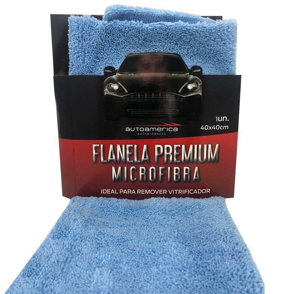 Flanela de Microfibra 40x40 375 GSM Autoamerica (Corte Laser)