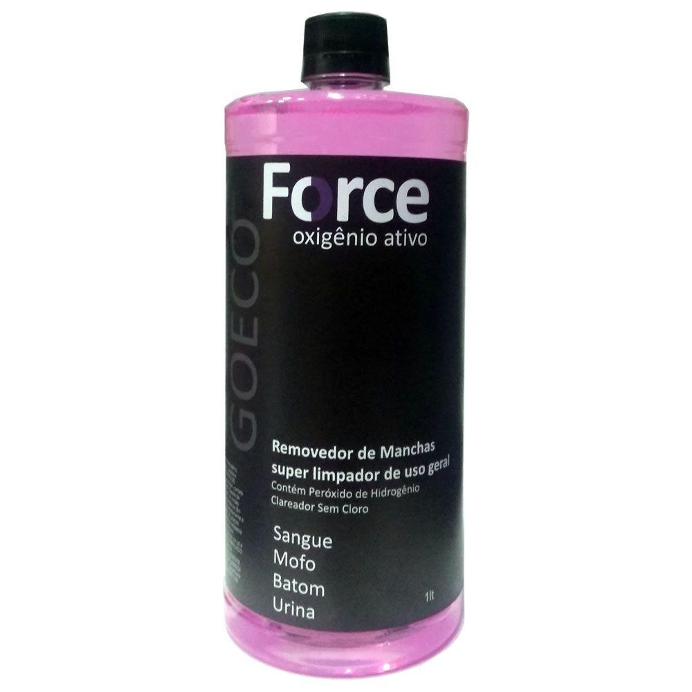 Force - Removedor de Manchas com Oxigenio Ativo 1L - Go Eco Wash