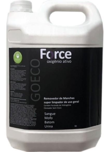 Force - Removedor de Manchas com Oxigenio Ativo 5L - Go Eco Wash
