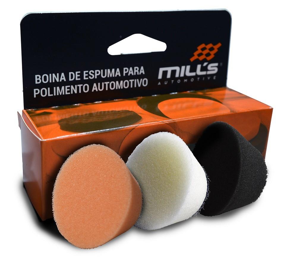 Kit Boinas de Espuma Mills 1,2