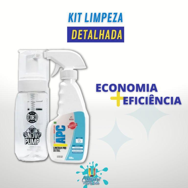 Kit Limpeza Detalhada