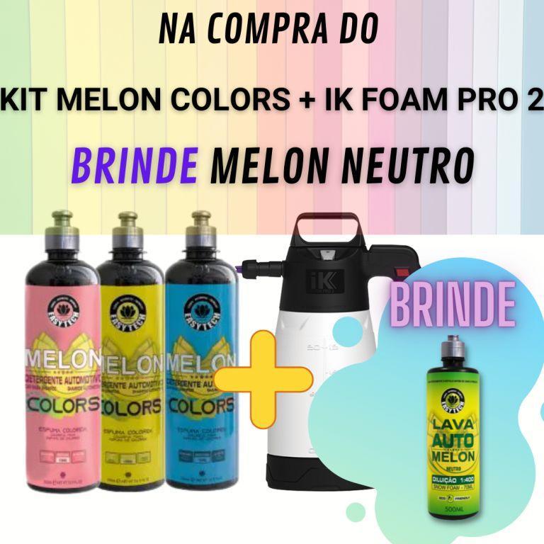 Kit Melon Colors + IK Foam Pro 2