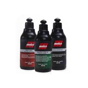 Kit Polidores Malco 300ML - Corte, Refino e Lustro