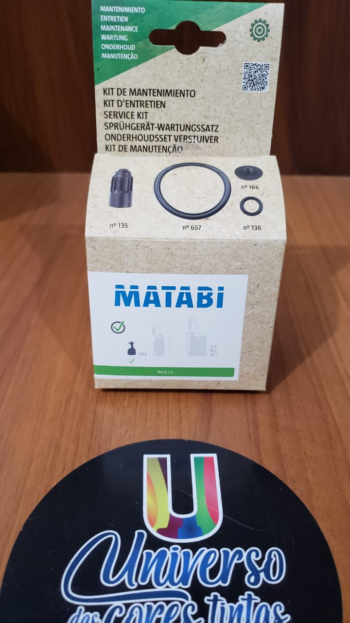 Kit Reparação Pulverizador Berry 1.5 Matabi