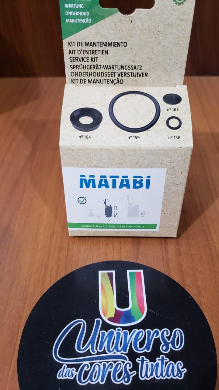 Kit Reparação Pulverizador Berry 5 / 7 Matabi