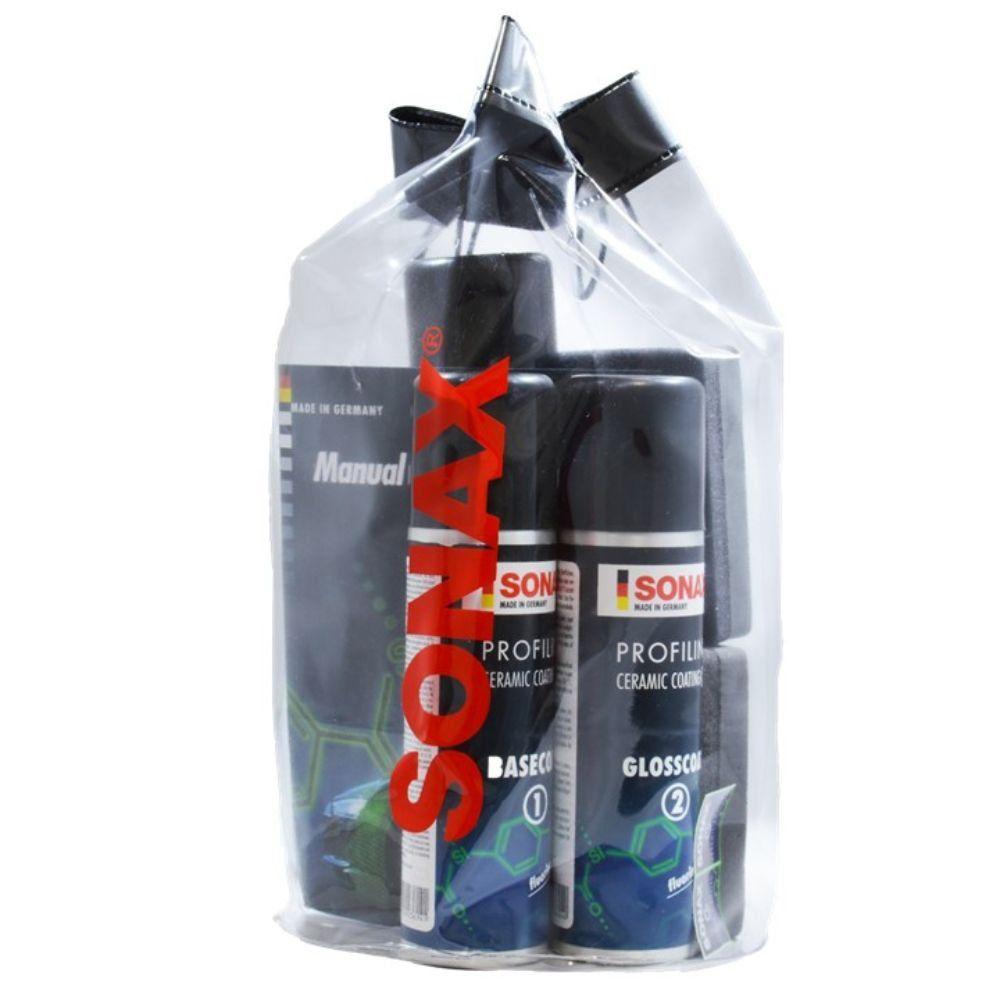 Kit Vitrificador Ceramic Coating CC36 Sonax - Embalagem Econômica