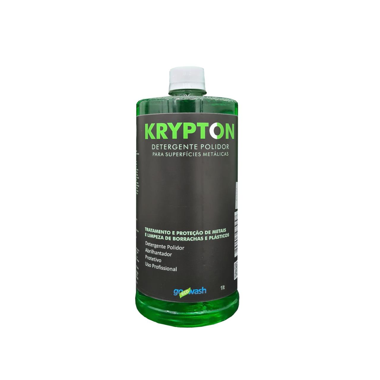 Krypton - Detergente para Metais, e Limpeza de Borrachas e Plásticos  1L