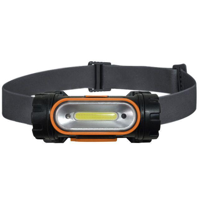 Lanterna de Cabeça Recarregável com Sensor SLP-12 LED Solver