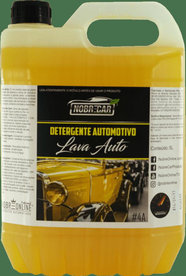Lava Auto Concentrado 5L - Nobre Car