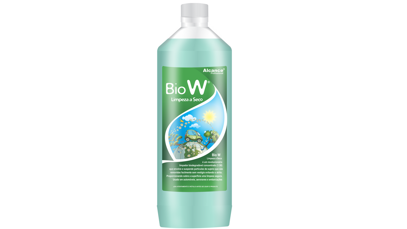 Lavagem a Seco BioW Concentrado 1L Alcance