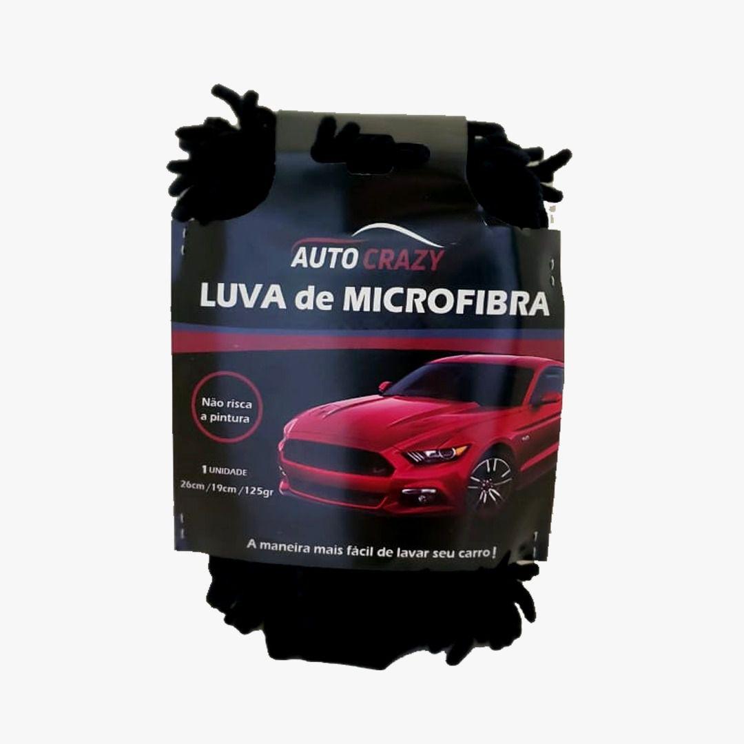 Luva de Microfibra Auto Crazy