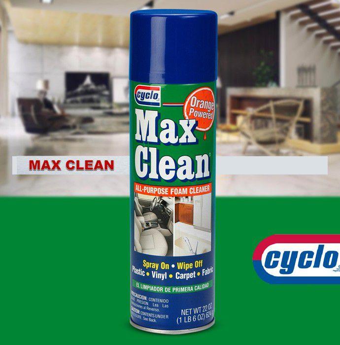 Max Clean Espuma Limpadora Multiuso Cyclo 510GR