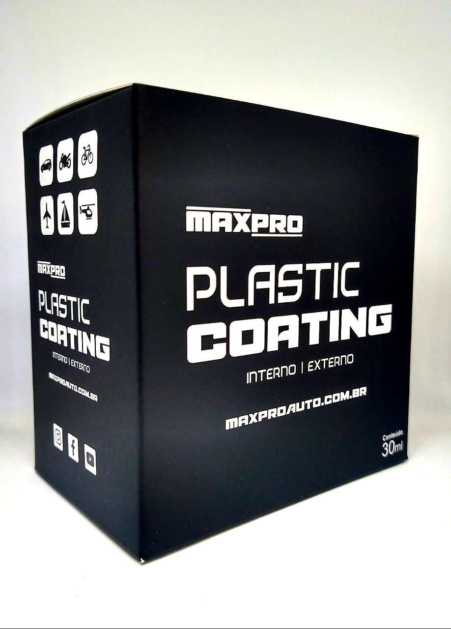 Maxpro Plastic Coating - Vitrificador de Plástico 2 anos - 30ml