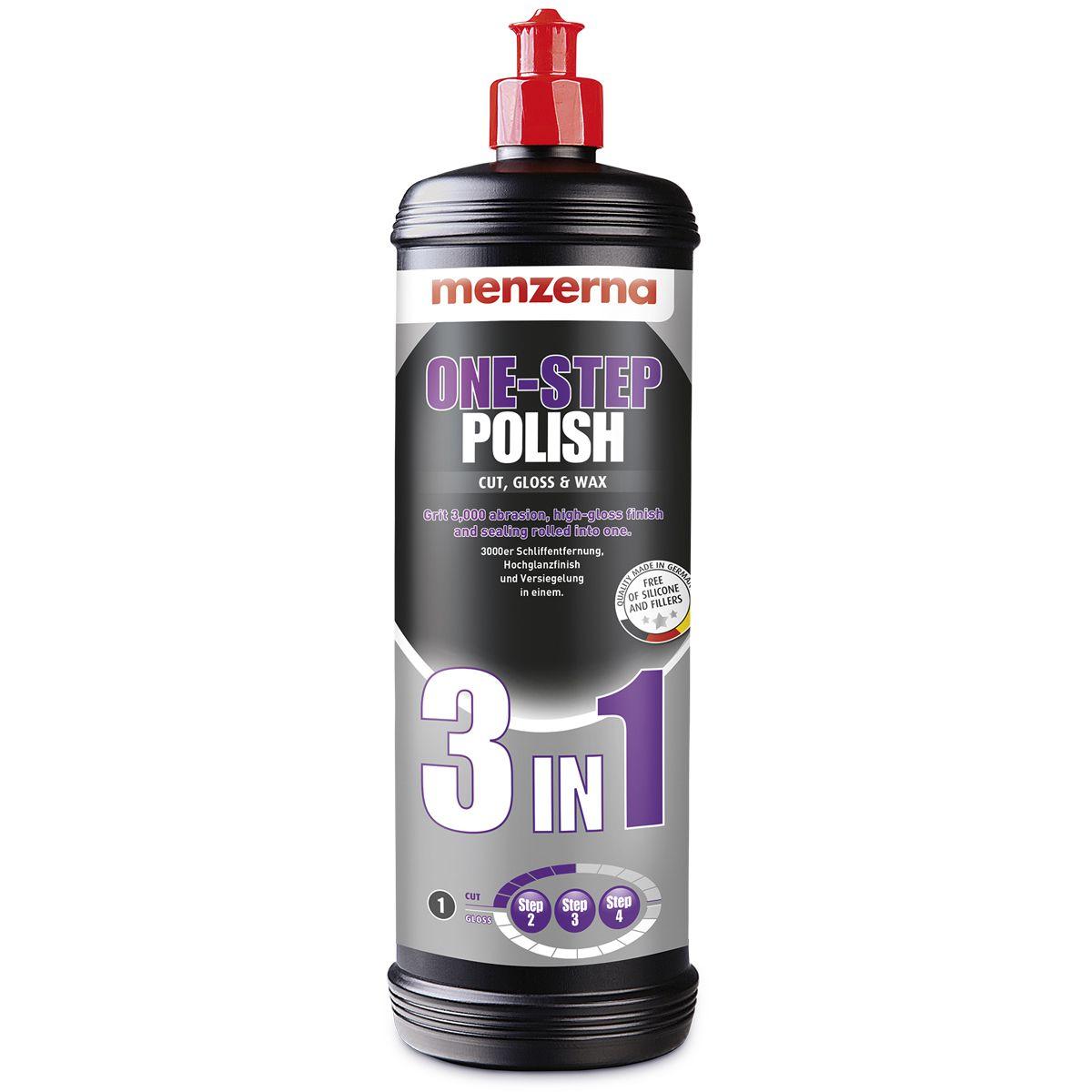 Menzerna Polidor 3 em 1 One Step Polish 1 Litro
