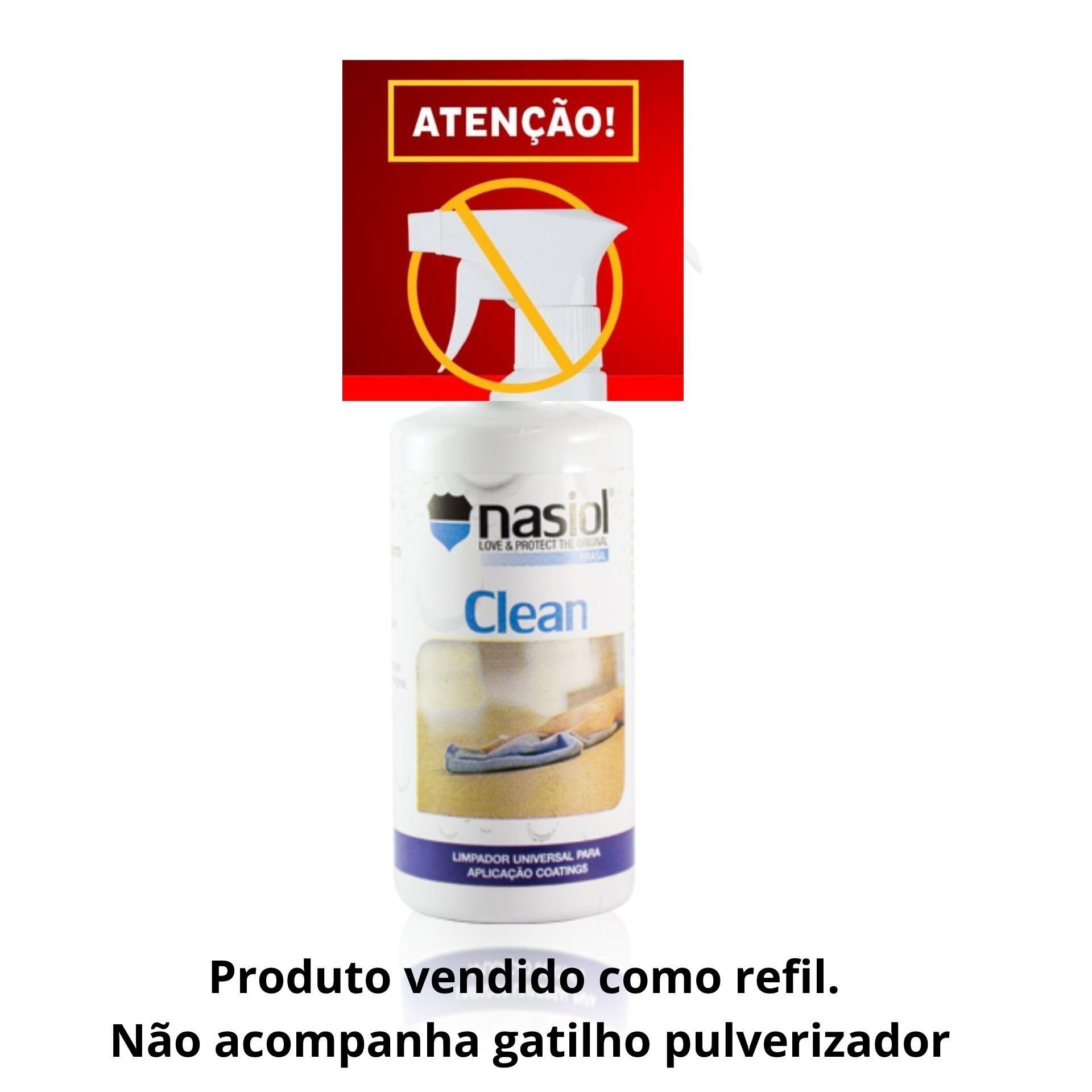 Nasiol Clean 500ML (Refil)