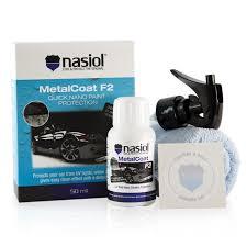 Nasiol MetalCoat - Nanoproteção de pintura, metal e plástico - 50ML