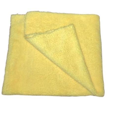 Pano de Microfibra 37x57 cm Amarelo 330 GSM Mandala