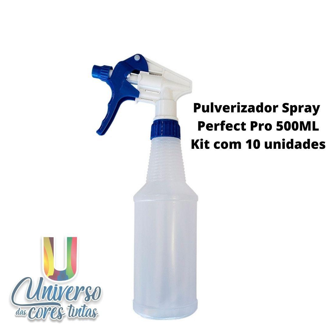 Pulverizador Spray Perfect Pro 500 ML (Kit com 10 Unidades)